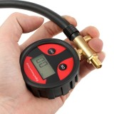 Car Tire Pressure Gauge Quick Clamp Digital Pressure Gauge Tire Pressure Monitor System