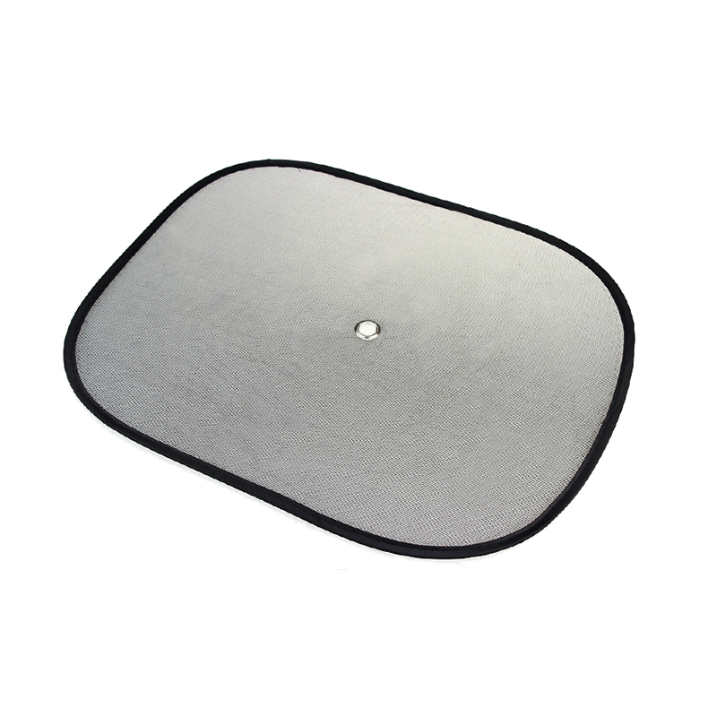2pcs Side Net Yarn Car Window Sunshade Curtain Summer Suction Cup Sun Protection Lightproof Mat Pad