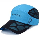 Cool Dad Quick Dry Hats Men's Breathable Baseball Cap Outdoor Visor Sun Hat