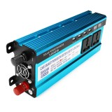 5000W Peak Solar Power Inverter Dual LED Screens 12V/24V DC to 220V AC Modified Sine Wave Converter