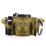 Tactical Hiking Sport Waist Belt Bag Fanny Pack Bum Crossbody Bag for Men