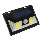 ARILUX 10W Solar Power 66 COB LED Waterproof PIR Motion Sensor Light Outdoor Wide Angle Wall Lamp