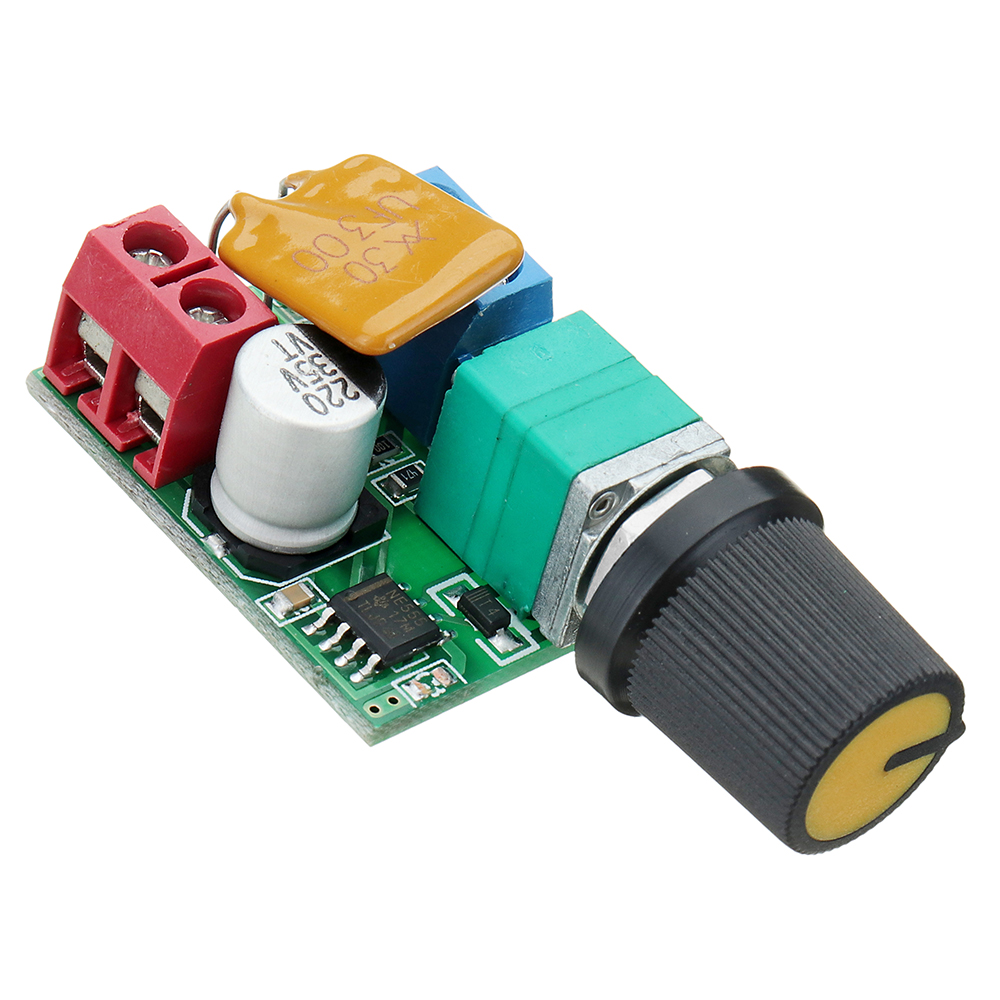 4.5V~35V 5V 6V 12V 24V 5A Mini PWM DC Motor Speed Controller Switch LED Dimmer