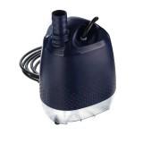 DC24V Submersible Pump Fountain Water Pump Power Cord 2 Nozzles Bottom Suction Pump EU