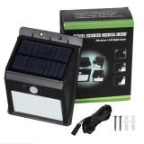 Waterproof 28 LED Solar PIR Motion Sensor Security Lamp Separable Wall Light for Outdoor Garden Yard