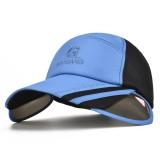 Mens Womens Adjustable Gardening Sun Protection Snapback Baseball Cap Sun Hat Big Brim