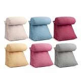 Adjustable Sofa Back Wedge Cushion Lumbar Support Pillow Brace Head Neck Shoulder Pad