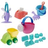 BESTKIDS 16Pcs/Set Creative Children Kids Beach Play Toys Truck Sand Dredging Funny Gift