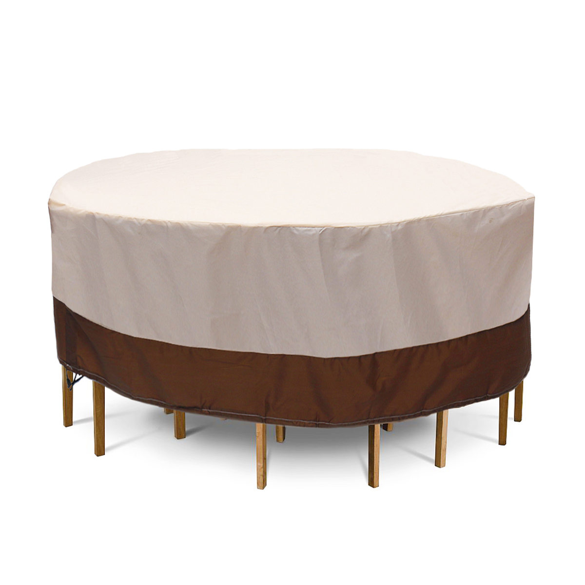 Furniture Dust Cover Fabric: Waterproof Patio Furniture Round Cover Outdoor Table
