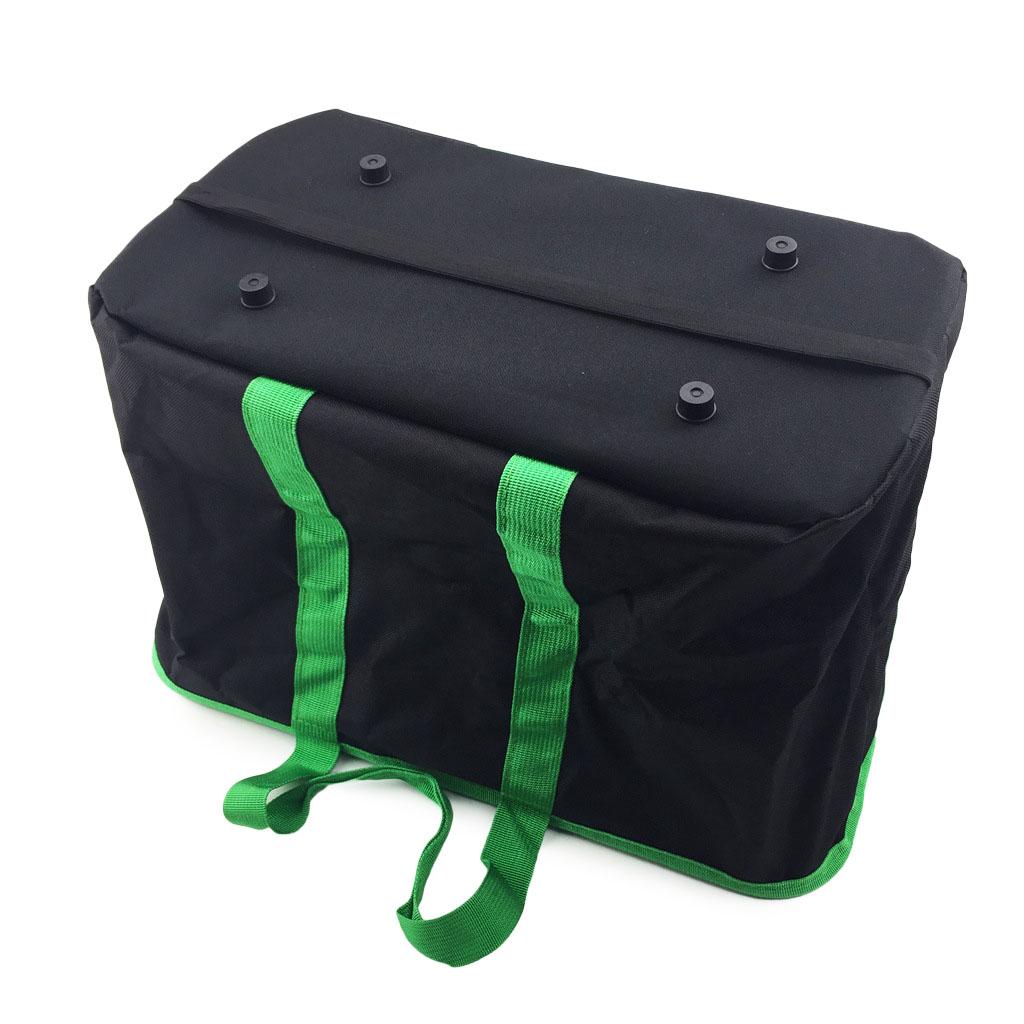 Large Capacity Folding Shopping Basket Waterproof Eco-friendly Reusable Shopping Bag Storage Basket