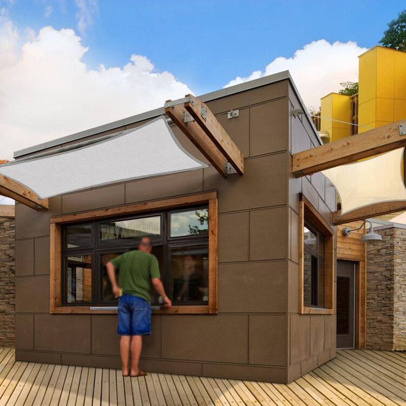 4 215 4 6 8m Sun Shade Sail Outdoor Garden Patio Uv Proof