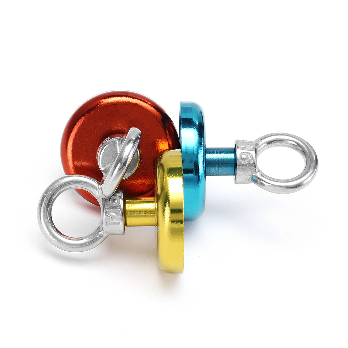 Neodymium Magnets 42mm 68kg Eyebolt Circular Ring Magnet Neodymium Recovery Magnet Metal Detector