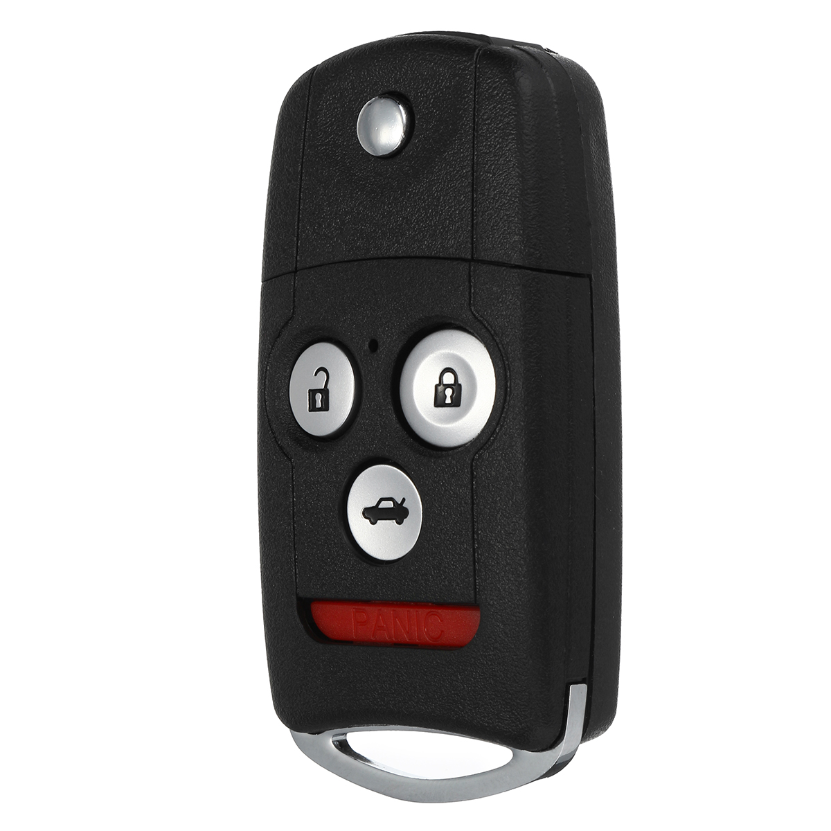 New 3+1 Buttons Remote Flip Car Key Fob Shell Case Remote Key Case