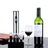 Loskii KC 60 Household Electric Wine Opener Set Stainless Steel Bottle Opener Kit With Base