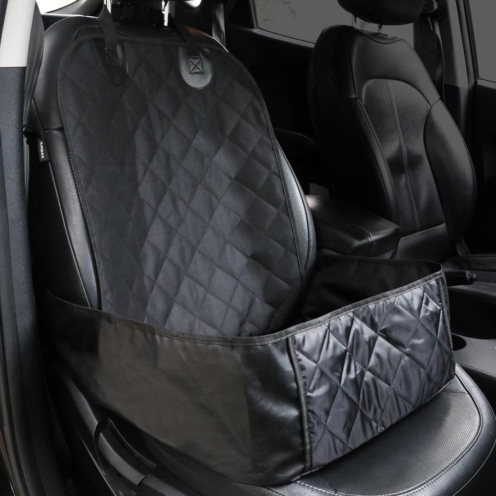 Pet Seat Covers Waterproof Car Single Seat Front Cover for Dog Pet Seat Protector Pet Mat