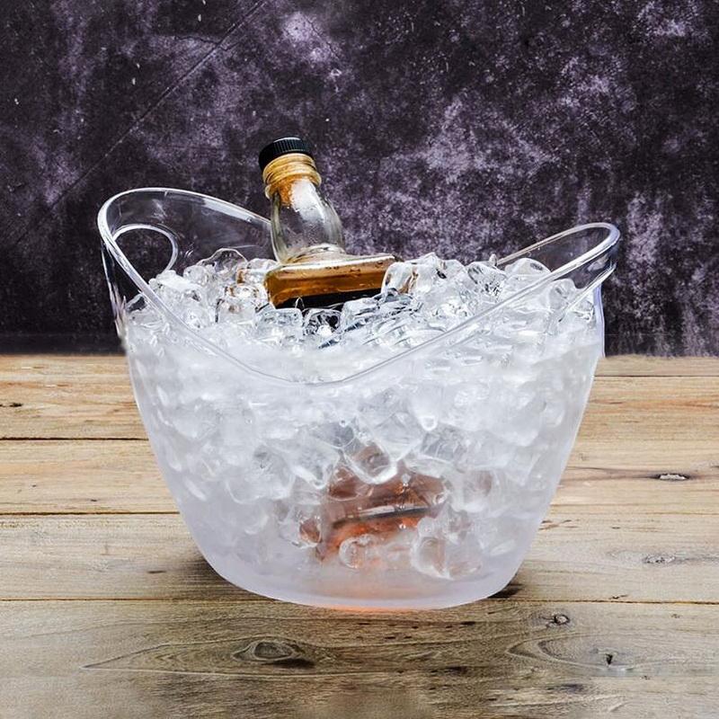 Plastic Transpa Garden Ice Bucket