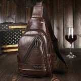 Minimalist Casual Outdoor Sling Bag Chest Bag Crossbody Bag For Men