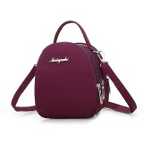 Three-layer Waterproof Zipper Bag/Crossbody Bag/Waist Bag/Pocket/Phone Bag/Hand Bag