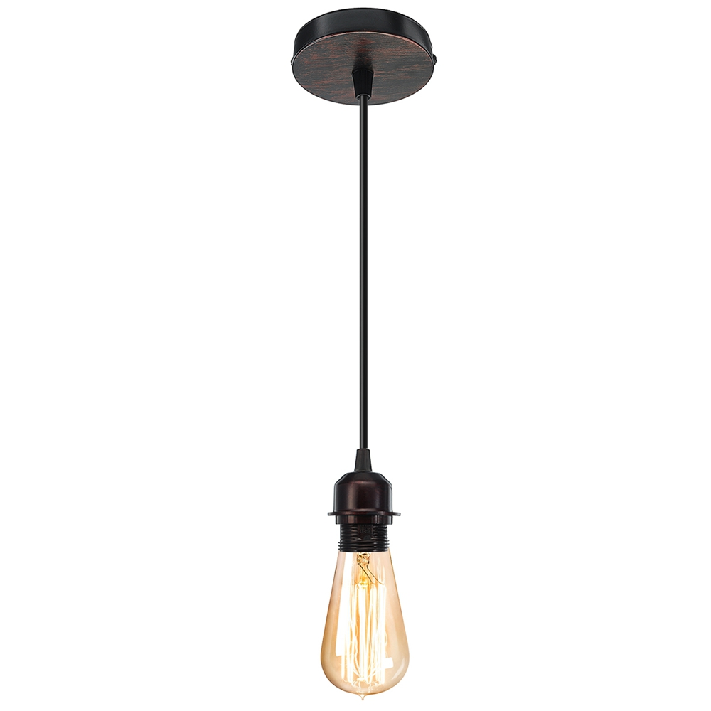 E27 Fabric Flex Ceiling Light Romantic Pendant Lamp Holder