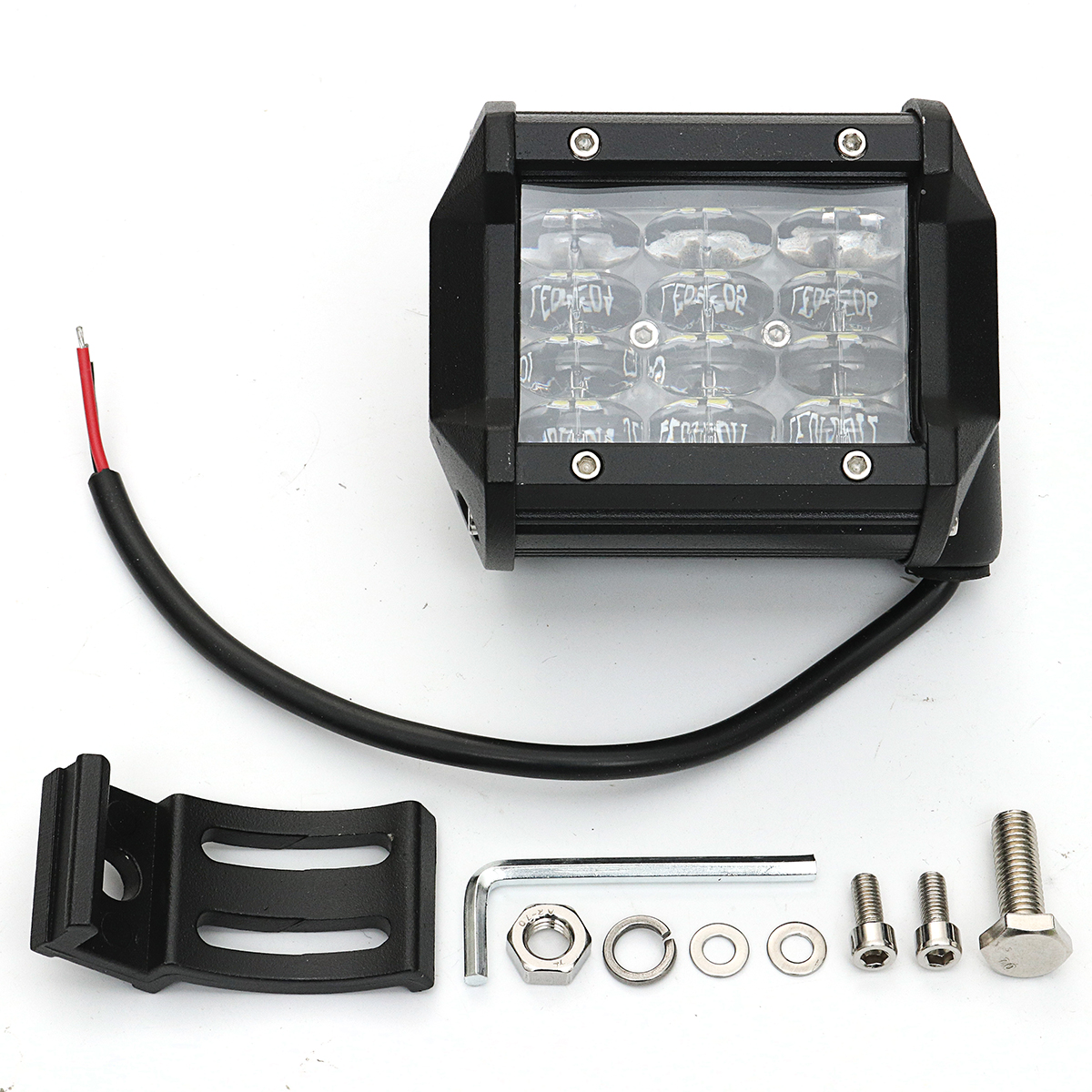 4inch 36W 6000K LED Work Light Bar Flood Spot Offroad Car Driving Lamp Truck 4 Rows