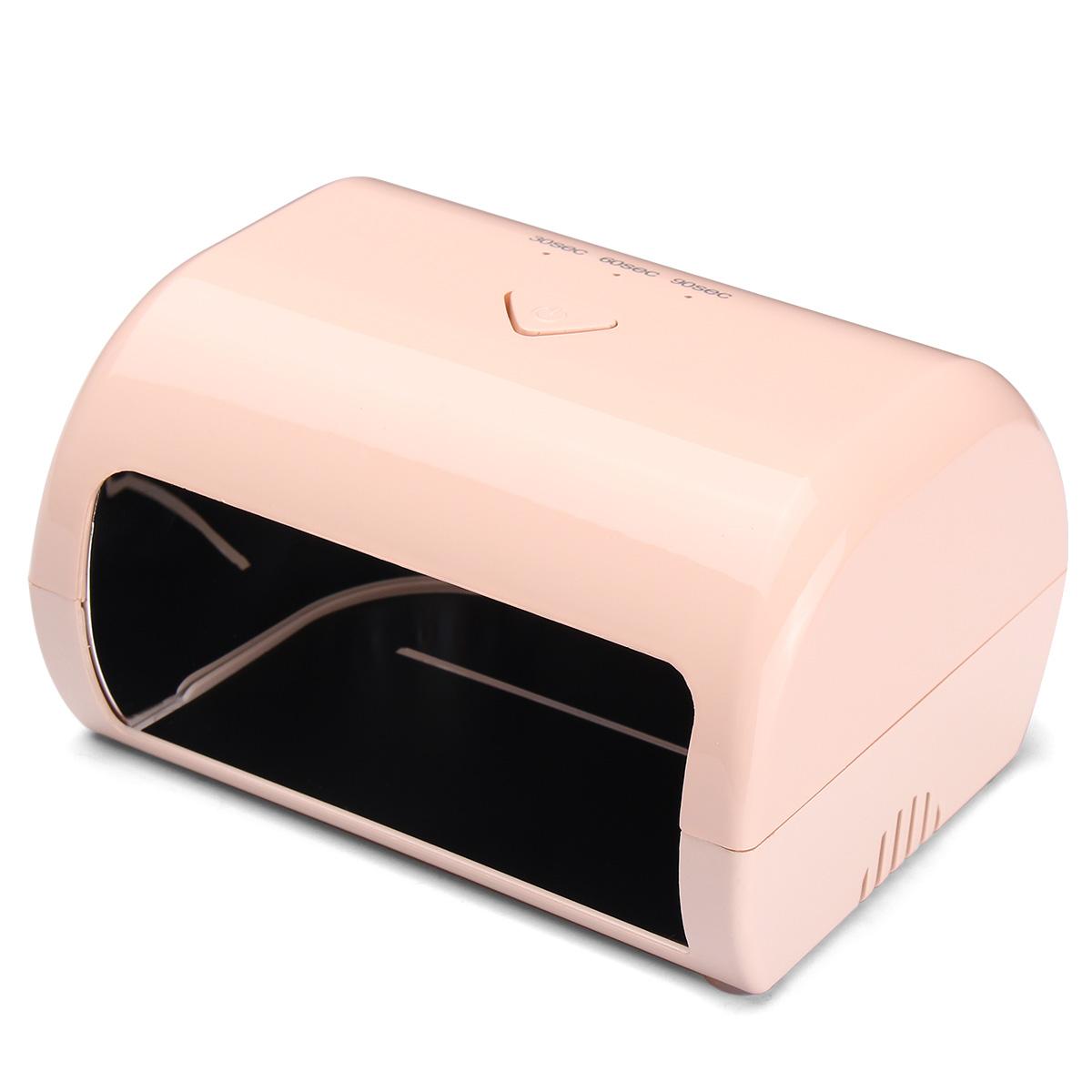 9W LED UV Lamp Nail Art Dryer Machine Gel Polish Curing Manicure Pedicure Salon Tools 110-240V