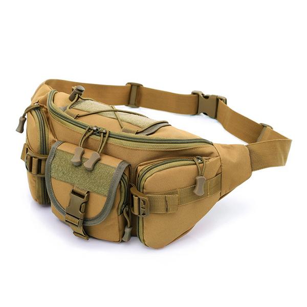Tactical Hiking Sport Waist Belt Bag Fanny Pack Bum Crossbody Bag for Men