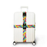 Honana Colorful Cross Luggage Strap Suitcase Belts Travel Tags Accessories Fit for 20″~32″ Suitcase