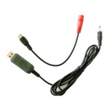 KS1000 22 in 1 RC Flight Simulator With USB Dongle Cable for Flysky Transmitter