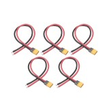5PCS RJXHobby XT60 Plug Male Connector 150mm 16AWG Silicone Cable Wire for RC Drone FPV Racing