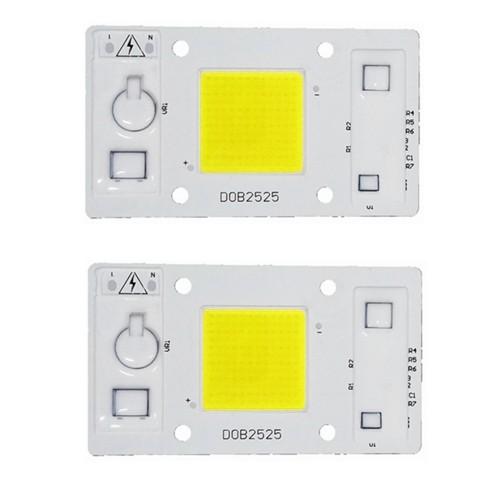 AC220V 20W LED COB Chip Light Warm / White / Blue / Yellow / Red / Green for DIY Spot Flood Light
