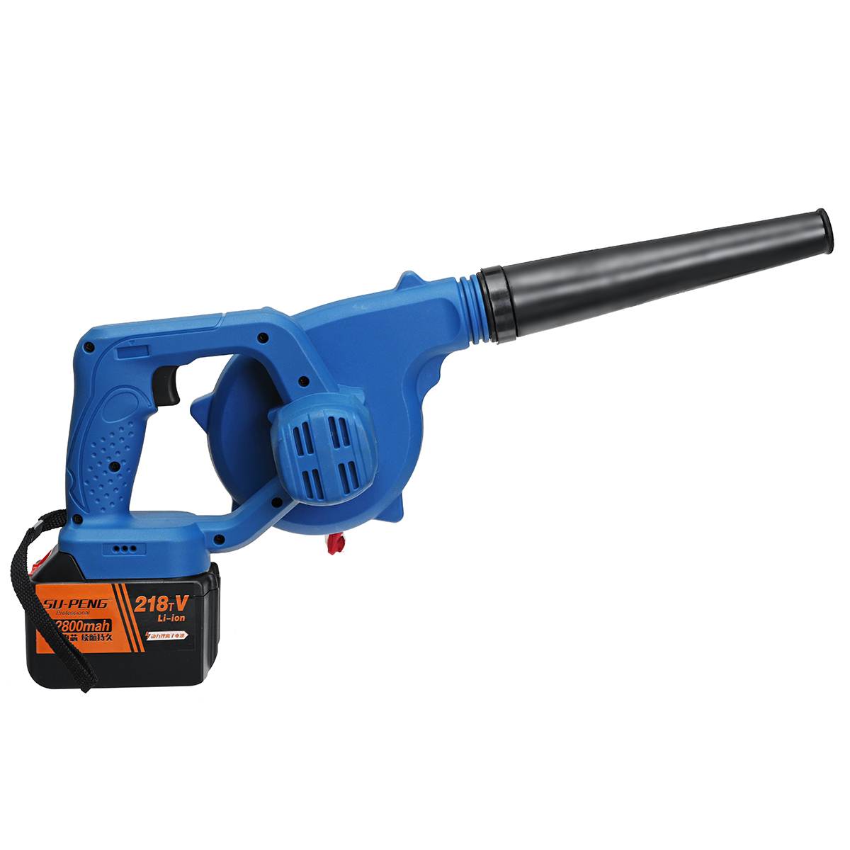 900W Portable 18000RPM Air Blower 168V/198V/218V Cordless Chargeable Dual Function Blower