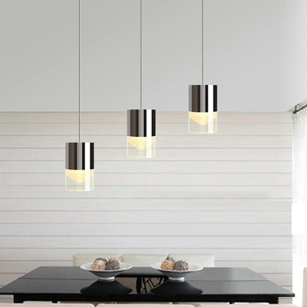 Modern Acrylic LED Chandelier Pendant Lamp Ceiling Light