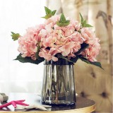 Artificial California Hydrangea Silk Flower for Wedding Party Festival Decorations Leading Way Silk