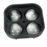 1PC Football Series 4 Compartments Ice Mold Shape Tray Shape 3D Ice-cream Mold Ice Mold