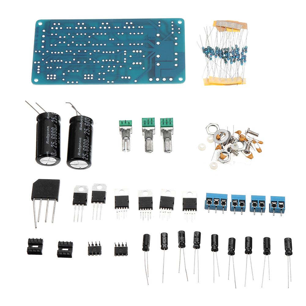 Tda2030a 21 3channel Bass Amplifier Circuit Board Green Alex