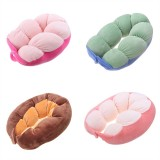 Soft Breathable Button Down Cervical Traction Head Neck Pillow Cushion Pain Relief Sleeper Travel