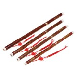 Chinese Bamboo Woodwind Flute C E F G Key Professional Musical Instruments