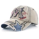 Men Women Summer Washed Cotton Adjustable Sun Baseball Hats Sports Dad Cap Visor