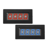 4 Digital LED Blue Red Tachometer RPM Speed Meter