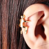 1Pc Gold Silver Color Human Wrap Cartilage Earring No Piercing Ear Climber Earrings for Women