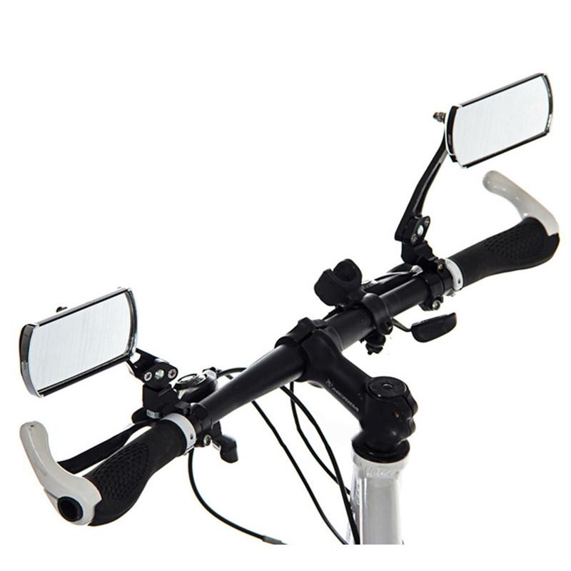 BIKIGHT 360 Rotation Bike Bicycle Mirror Reflective Safety Cycling Handlebar Rearview Mirror