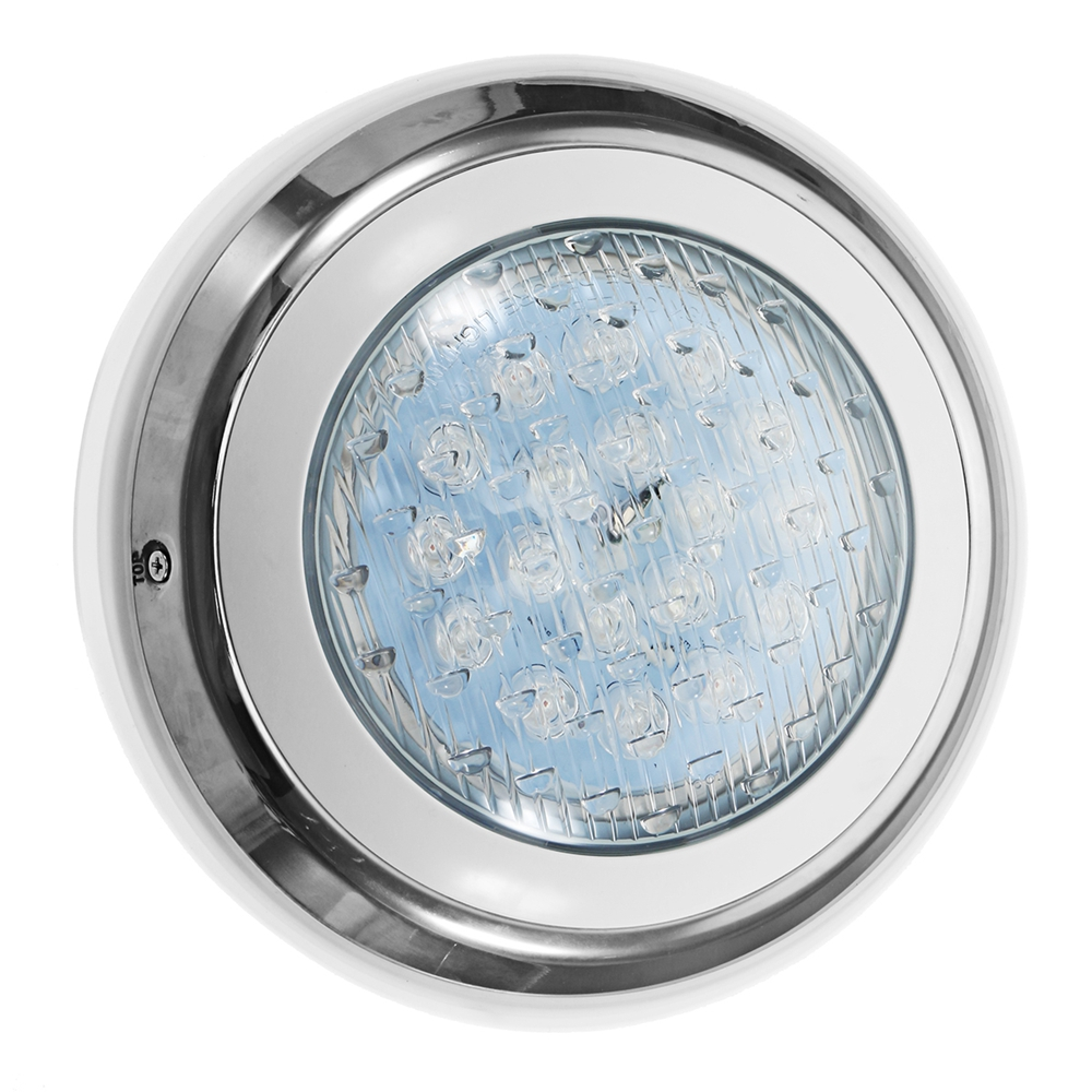 54W RGB Remote Control LED Swimming Pool Light Underwater Waterproof Wall  Mounted Night Light