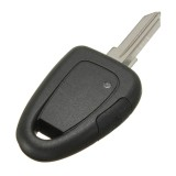 Replacement Transponder Remote Key Shell Case with Uncut Blade for Fiat IVECO DUCATO