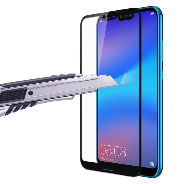 BAKEEY Anti-Explosion Full Cover Tempered Glass Screen Protector for Huawei P20 Pro