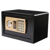 Digital Depository Drop Cash Safe Box Jewelry Home Hotel Lock Keypad Black