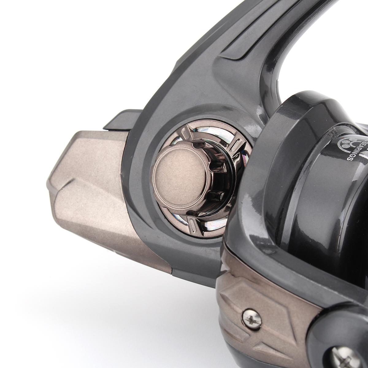 ZANLURE 5.2:1 13+1BB Metal Spinning Fishing Reel 5000-10000 Long Casting Fresh/Saltwater Fishing