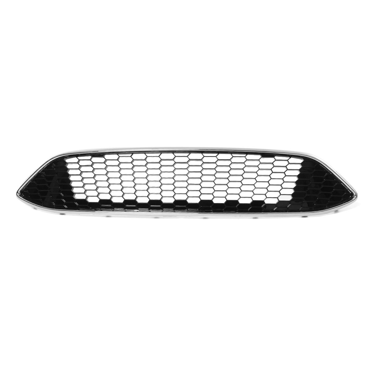 Ford Focus Zetec S Sport Front Bumper Fog Light Honeycomb Grille 2015/>2018