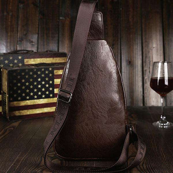 Minimalist Casual Outdoor Sling Bag Chest Bag Crossbody Bag For Men