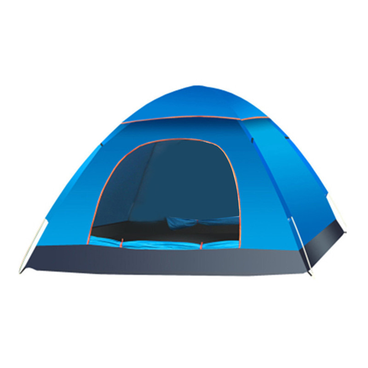 outdoor 2 3 people camping tent waterproof automatic quick pop up uv sunshade shelter. Black Bedroom Furniture Sets. Home Design Ideas