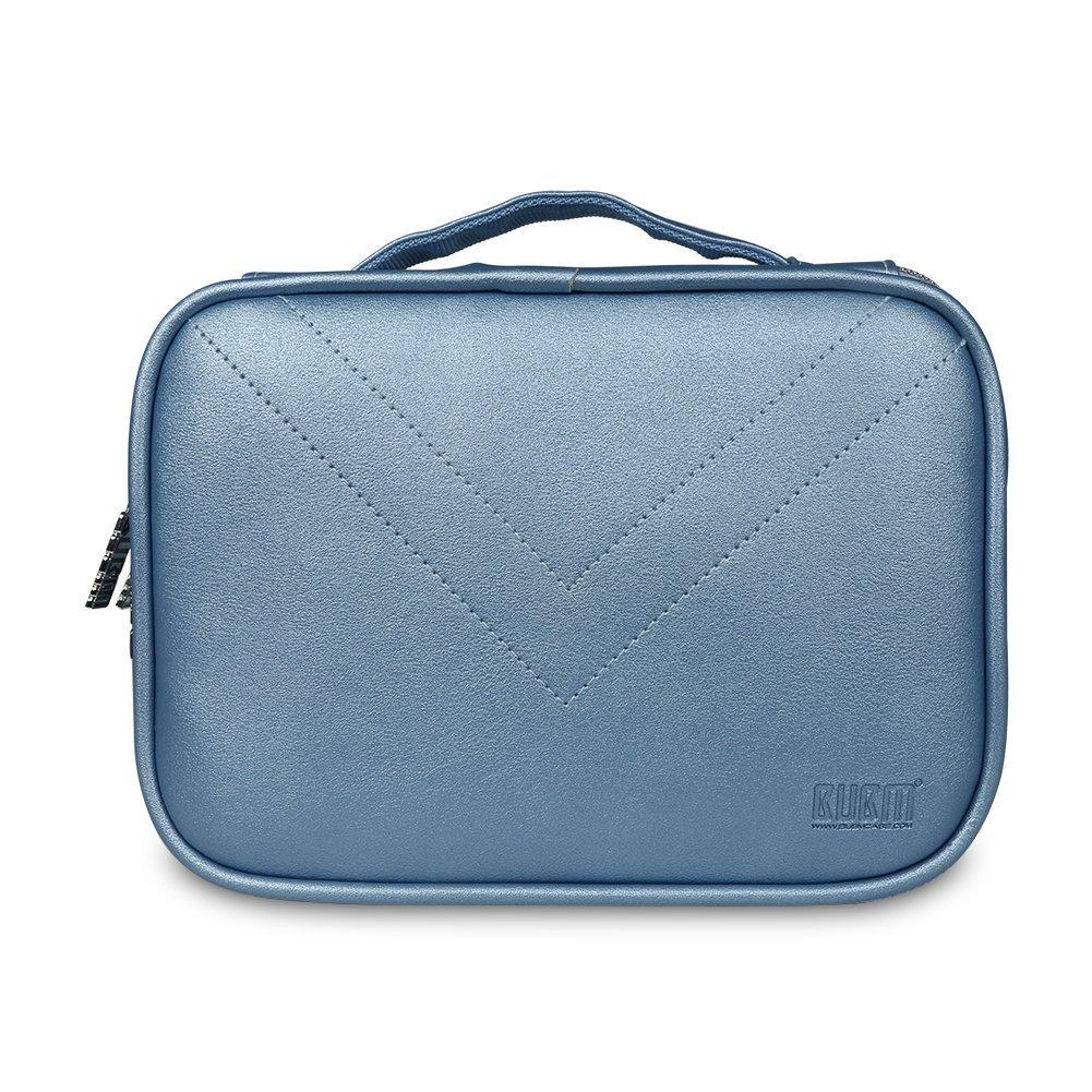 BUBM Portable Waterproof Travel Cable Organizer Storage Bag Electronics Accessories Travel Organizer